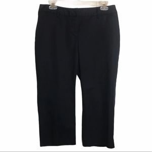 Rafaella Navy Crop Pants Sz 8